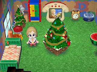 どうぶつの森0237クリスマスツリー★