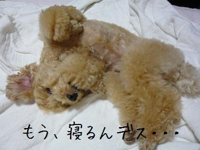 寝る時間 3
