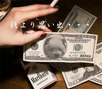 銭より・・・