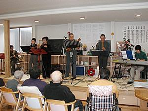 201001214モコ&キューブ慰問会