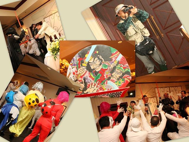 結婚式 余興 弘前パークホテル スナップ 弘前市
