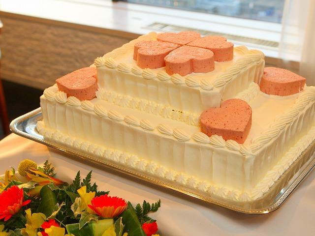 弘前市 結婚式 弘前パークホテル ウェディングケーキ スナップ ハッピー フォト