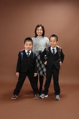 スナップハッピーフォト 家族写真 入学式