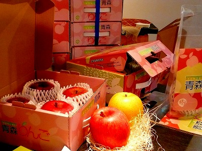 弘前市 りんご パッケージ 写真 スナップ ハッピー フォト