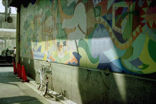 抽象壁画b