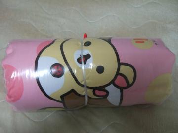 リラックマクッション(ピンク)2