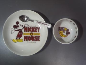 ミッキーマウス お皿セット2