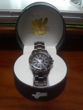 スティッチ 腕時計 黒