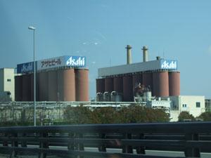 昔から墓参りのときに車窓に見えたビール工場