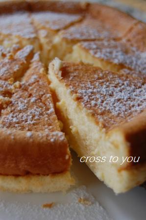 スフレ風ベイクドチーズケーキ