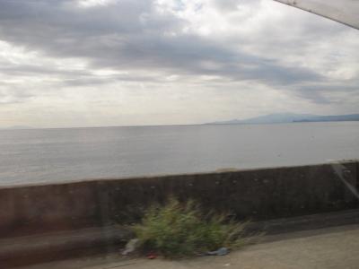 海を見ながら走っていたのが・・・・・
