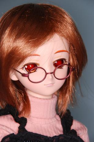 ○眼鏡はちっちゃくなくっちゃ
