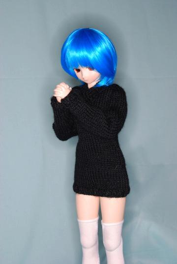 お願い黒セーター