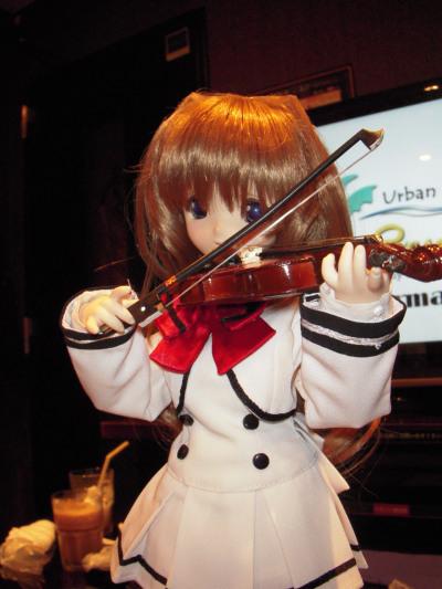 バイオリンも弾ける