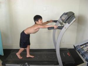 運動だってします