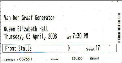 QEH ticket