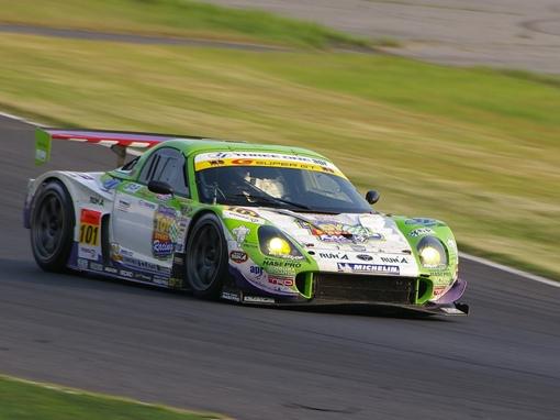 apr TOY STORY Racing apr MR-S 大嶋和也/石浦宏明組。<br />