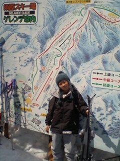 *須原スキー場*