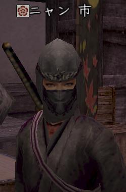 モヒカン忍者