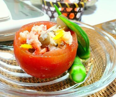 080927カニのトマトカップサラダ