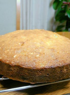 081012バナナアーモンドケーキ