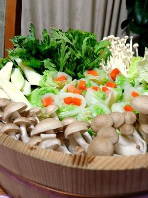 081110お鍋用野菜
