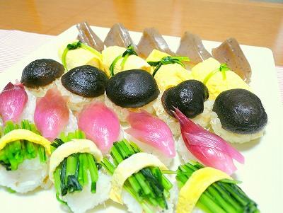 081116野菜寿司