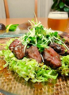 081116お肉サラダ
