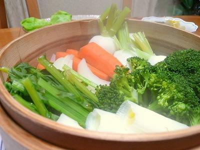 081118蒸し野菜