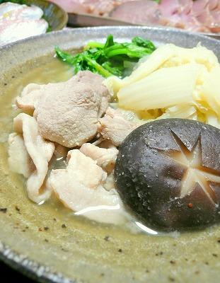 081205白菜と豚肉の味噌煮