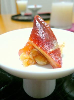 081217ほっき貝の粕漬け