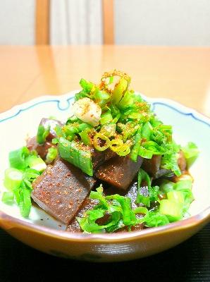 081222牛すじ肉とこんにゃくの味噌煮