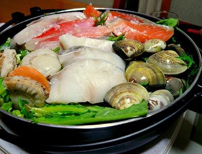 090107海鮮蒸し鍋