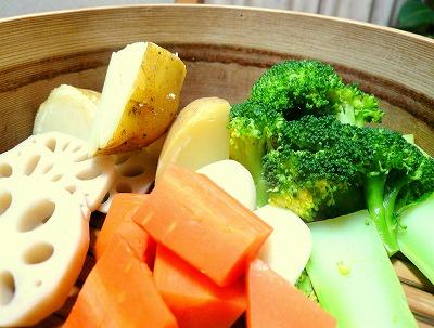 090111蒸し野菜
