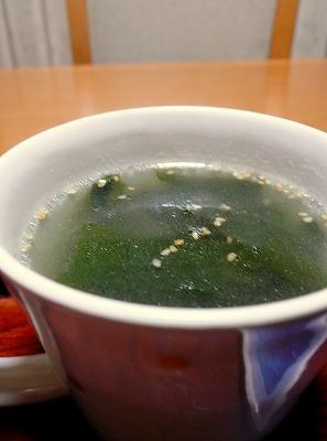 090127わかめスープ