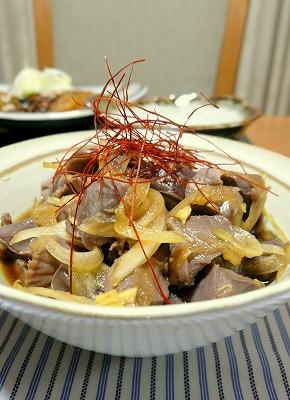 090305砂肝ポン酢