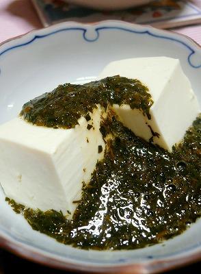 090317湯豆腐とギバサ