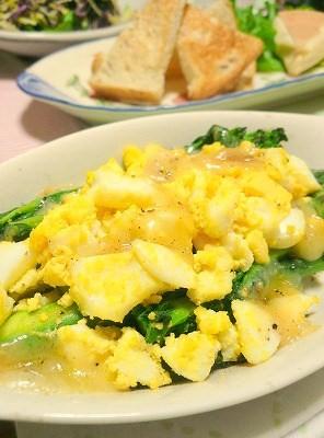 090405アスパラと卵のチーズ焼き