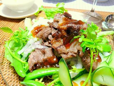 090603牛肉とポン酢のジュレ