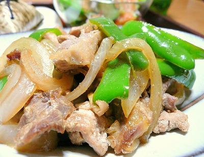 090611鶏の炒め物