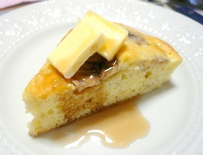 090614バター&メープルシロップ
