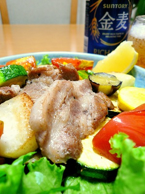 090624豚肉サラダ