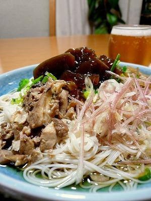 090727煮凝り素麺