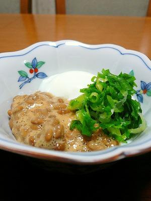 090807納豆と温泉卵
