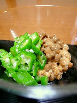 090813おくら納豆