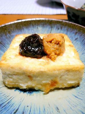 090916焼き豆腐