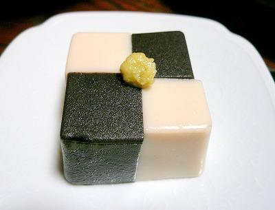 090919ゴマ豆腐