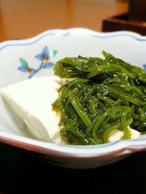 091012めかぶ豆腐