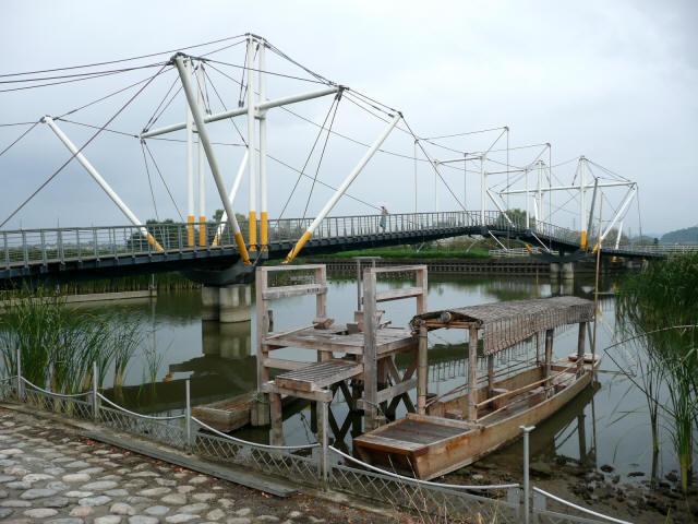 十二町潟横断橋2