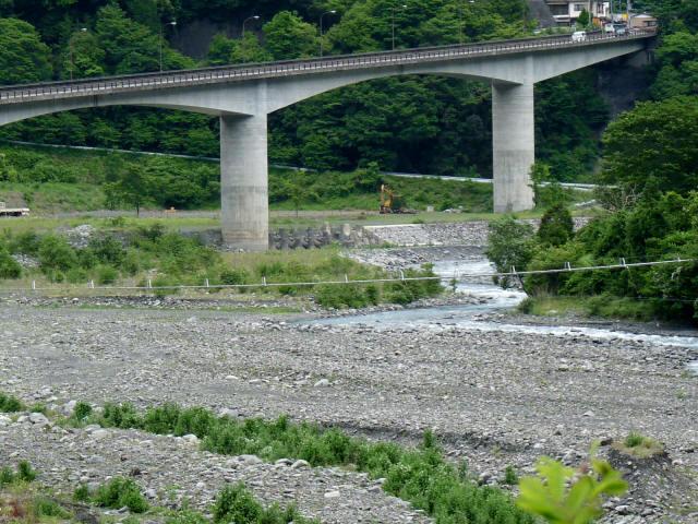 入島つり橋1